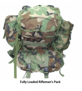 Go bag rifelman pack