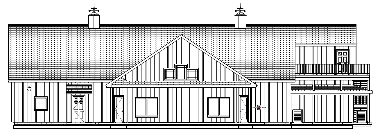 new front elevation